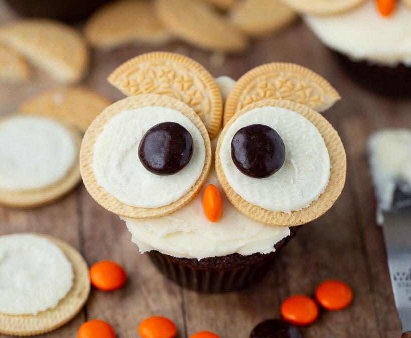 Cupcakes fáciles de Oreo Owl + Revisión de calcetines inteligentes Owlet