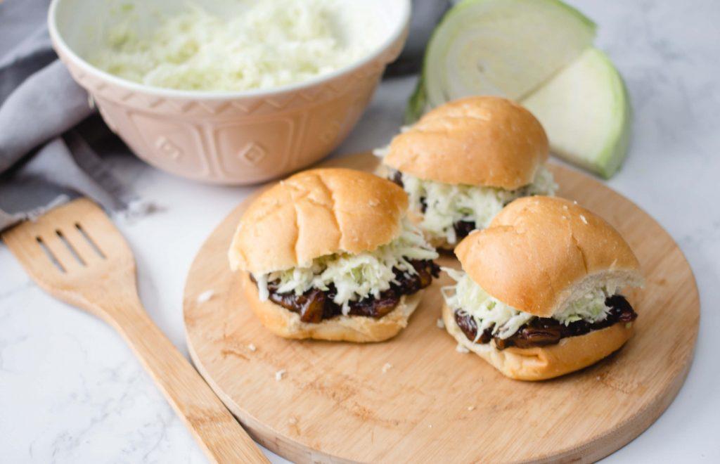 Sandwich de jaca tirada | Recetas veganas de VegKitchen