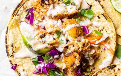 Tacos Saludables de Bacalao (Receta Rápida y Fácil)