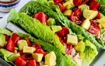 Wraps de ensalada de atún y lechuga – Kalyn's Kitchen