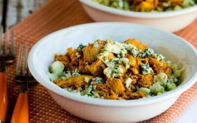 Buffalo Chicken Coliflower Rice Bowl (Video) – Cocina de Kalyn