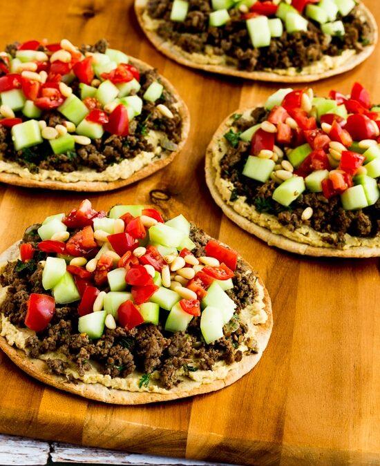Rondas de Pita de Carne y Hummus del Medio Oriente – Kalyn's Kitchen
