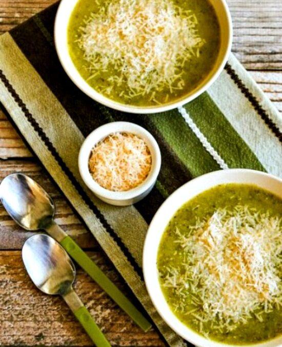 Sopa de calabacín y calabaza amarilla – Kalyn's Kitchen