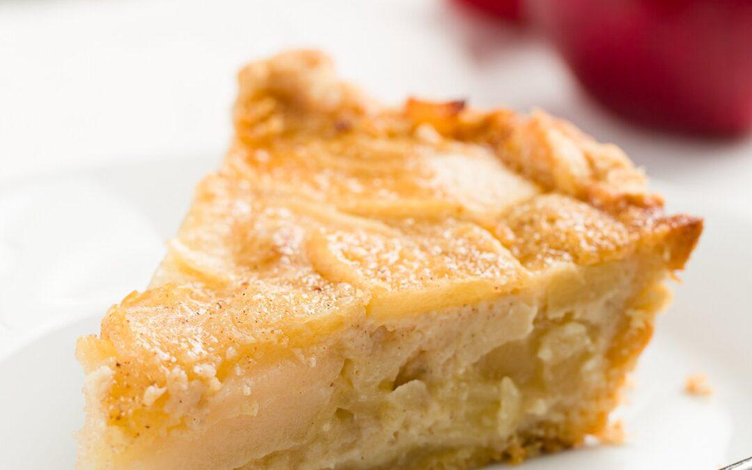Pastel de natillas de manzana | Proyecto Cupcake