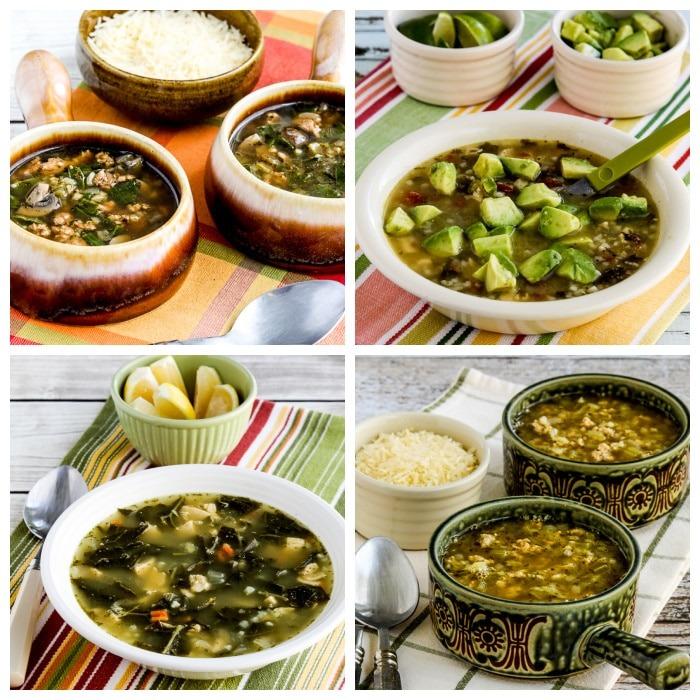 Recetas de sopa de pavo baja en carbohidratos y cetogénica – Kalyn's Kitchen
