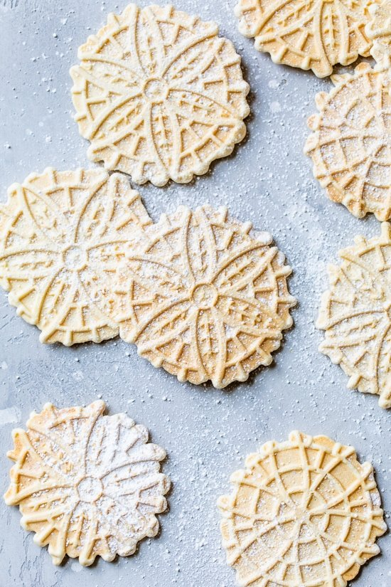 Galletas Pizzelle – Skinnytaste