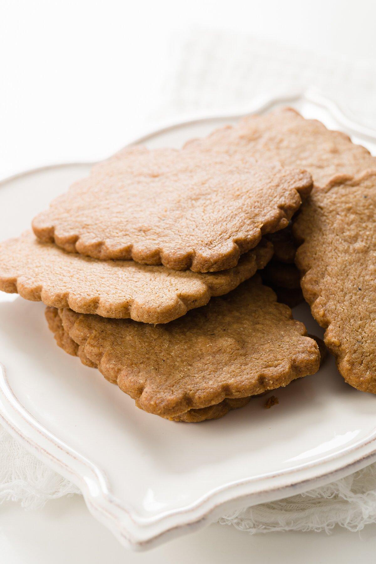 Cookies simples de Speculoos (Copycat Biscoff)