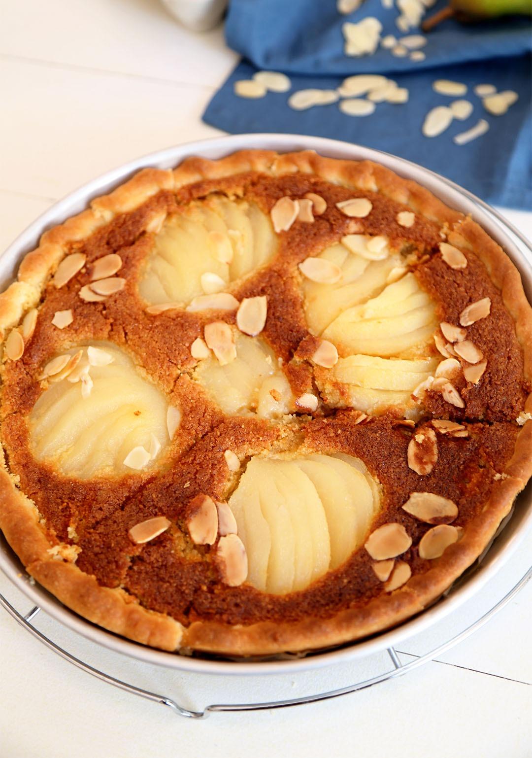Paso a paso: ¿cómo preparar una tarta de pera bourdaloue?