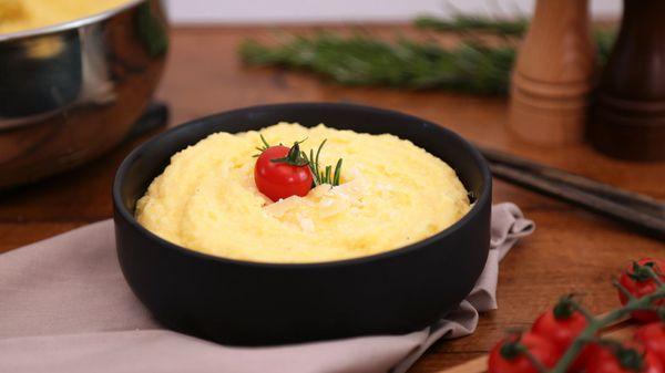 Paso a paso: ¿cómo conseguir una polenta cremosa?