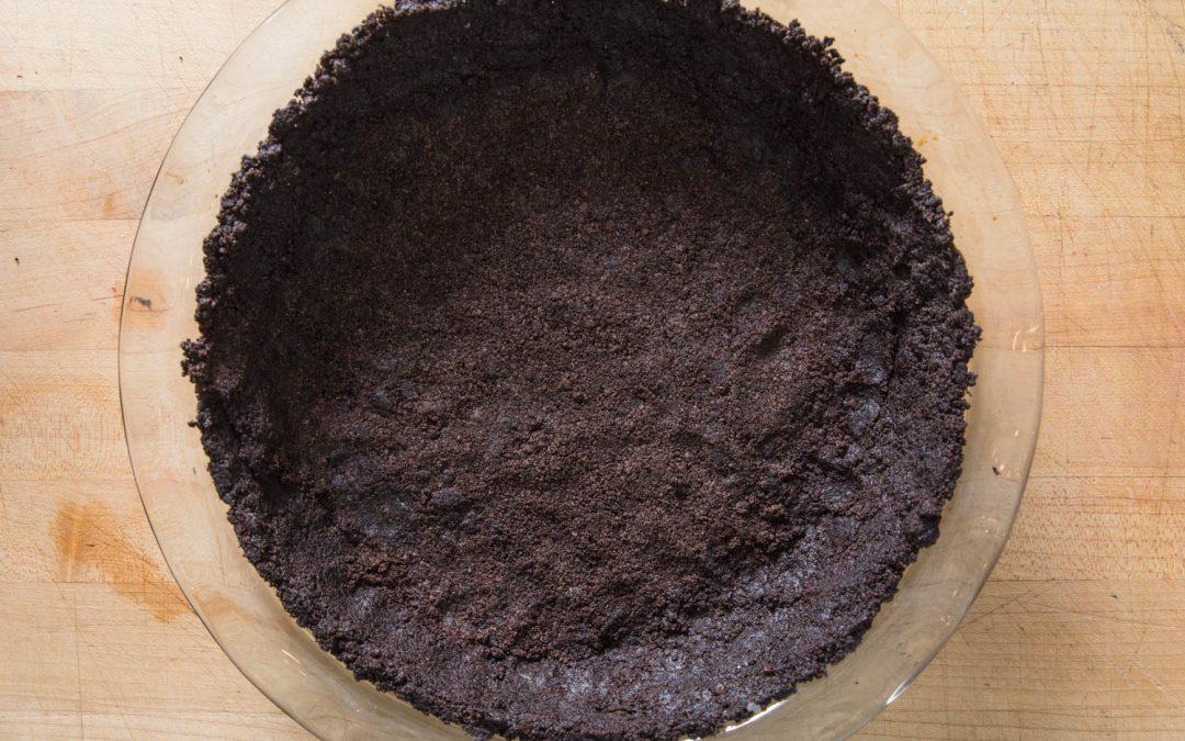 Receta de corteza de galleta Oreo de chocolate