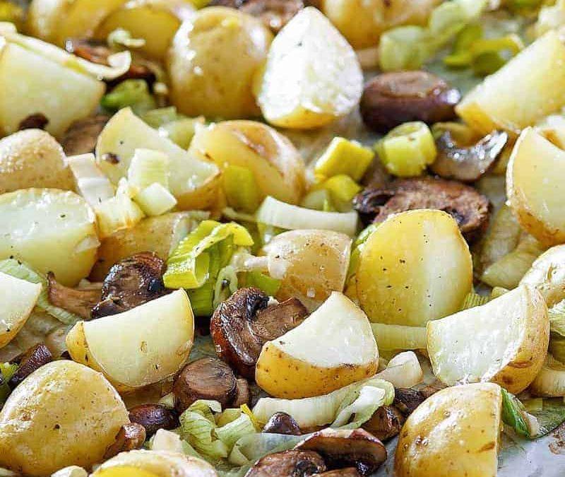 Puerros y patatas asadas |  Recetas CopyKat