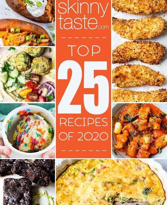 Las 25 recetas de Skinnytaste más populares de 2020