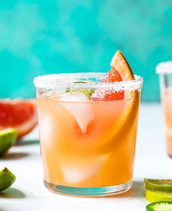 Paloma Jalapeño Zero-Proof (Mocktail) – Skinnytaste