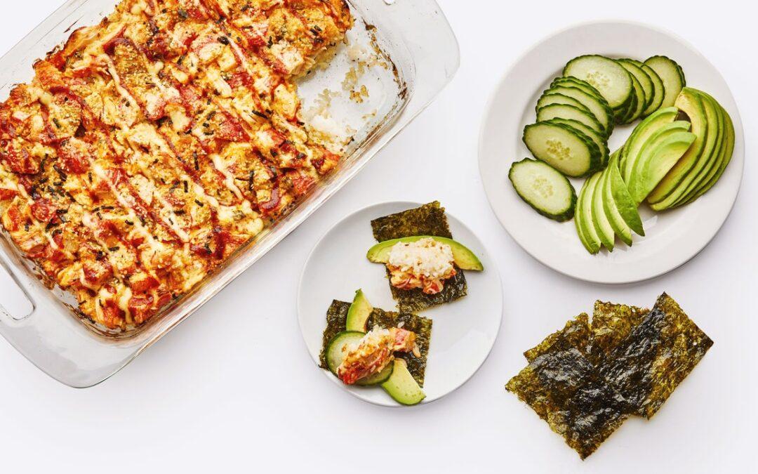Sushi Bake es la tendencia de bloqueo que nunca dejaré de hacer