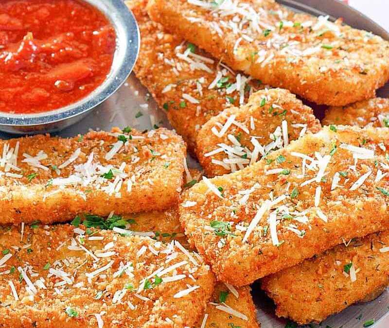 Palitos de queso mozzarella frito de TGI Friday