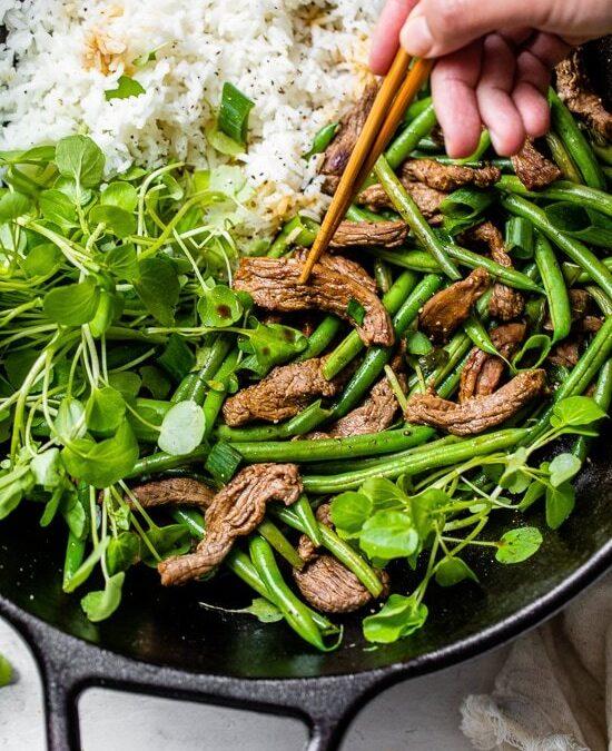 Salteado De Carne De Res Negimaki – Skinnytaste