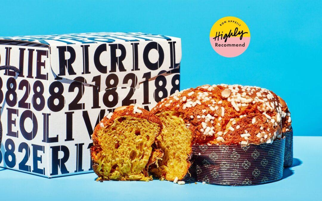 Los pasteles de Pascua de Colombe de Olivieri 1882 son ligeros como una pluma y no demasiado dulces
