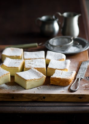Receta de pastel de natillas mágicas |  La mejor receta de pastel de natillas mágicas
