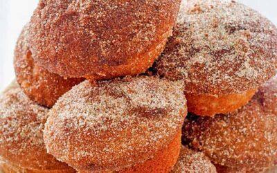 Donut Muffins: muffins que saben a donuts