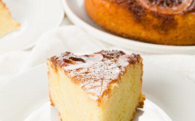 Pastel de limón con aceite de oliva |  Proyecto Cupcake
