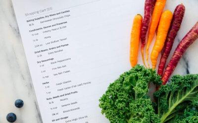 Nuevas funciones de ahorro de recetas y compras de comestibles
