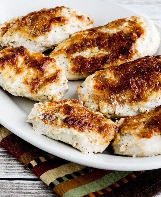 El mejor pollo al horno con mayo y parmesano de Internet (VIDEO) – Kalyn's Kitchen