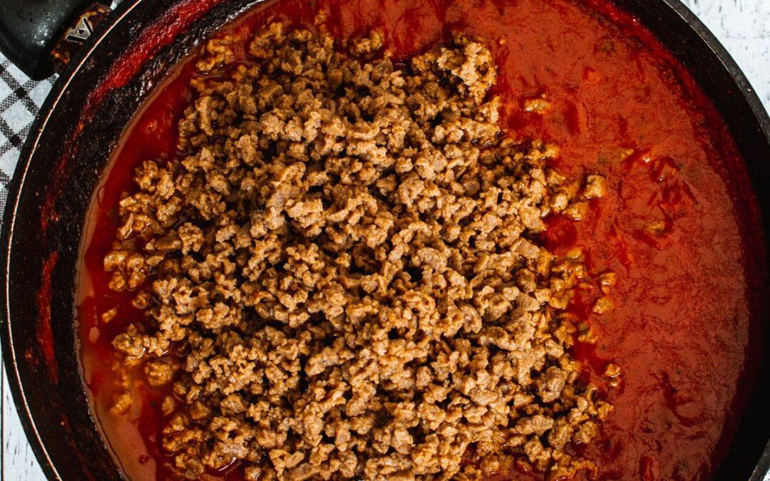 Salsa Boloñesa Vegana |  Recetas veganas de VegKitchen