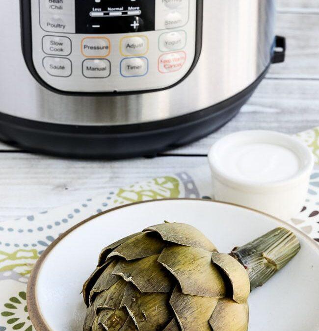 Cómo cocinar alcachofas en la olla instantánea – Kalyn's Kitchen