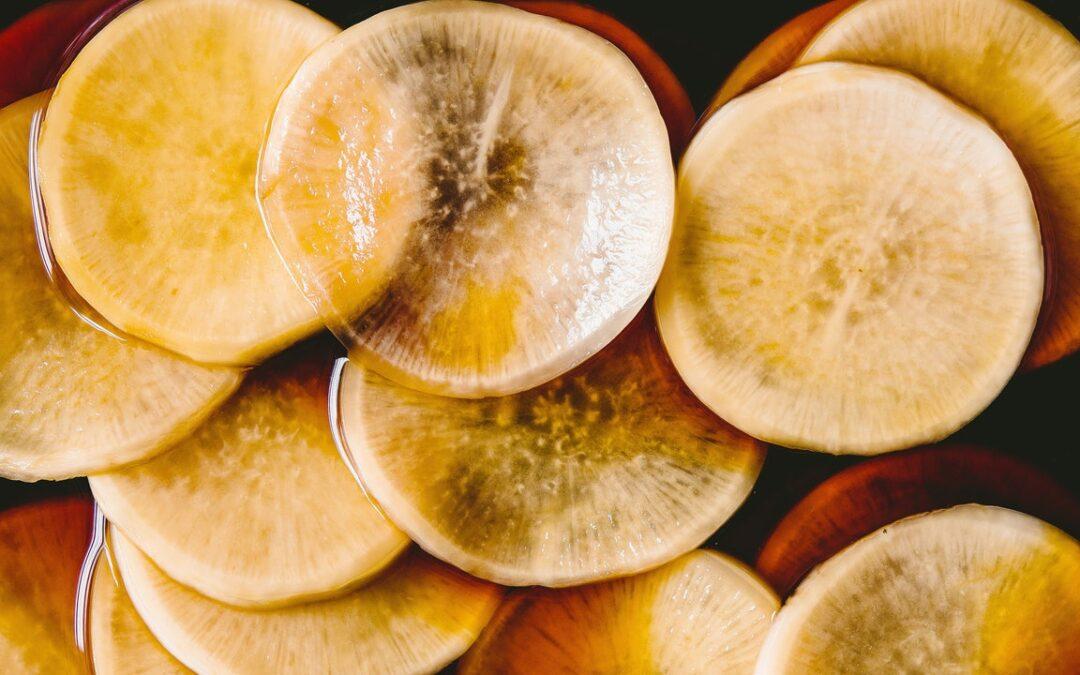 Rábano en escabeche de soja de My Shanghai por Betty Liu
