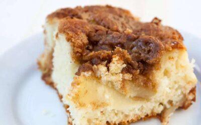 Pastel Bisquick de Manzana y Café
