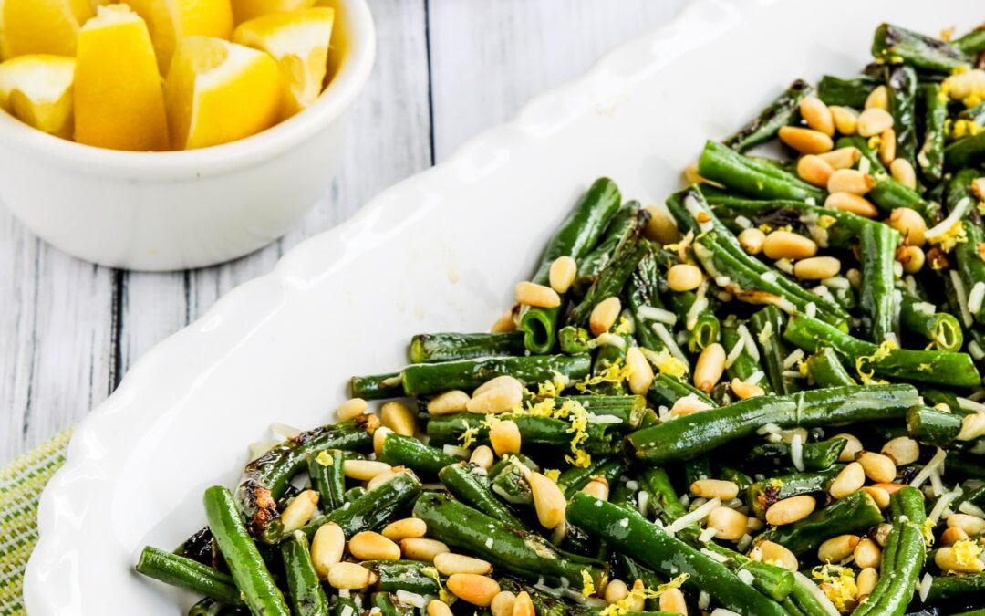 Judías verdes con limón, parmesano y piñones – Kalyn's Kitchen