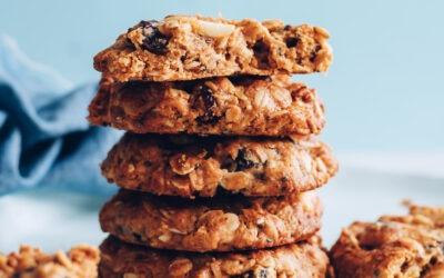 Galletas de granola sin harina fáciles |  Recetas de panadero minimalistas