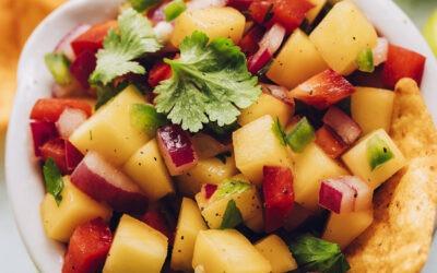 Salsa de mango fácil (¡8 ingredientes!)